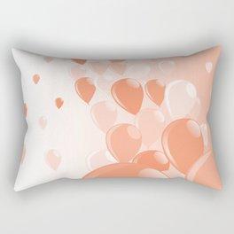 Two Tone Baloons Rectangular Pillow