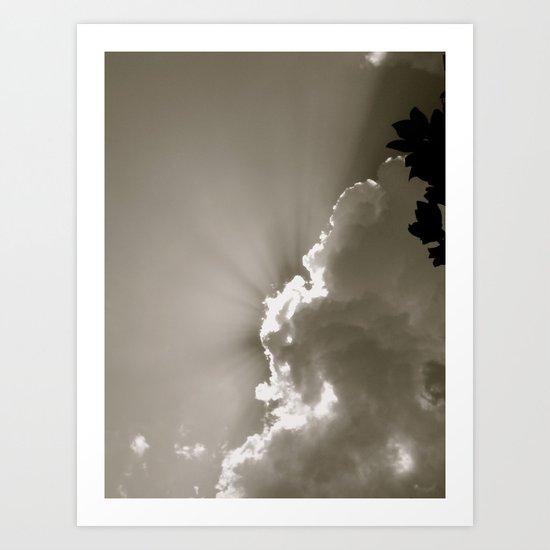 Glory in the Clouds Art Print