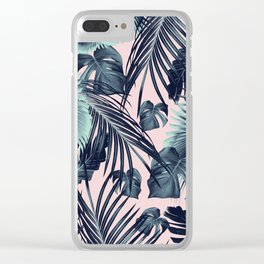 Tropical Jungle Leaves Dream #2 #tropical #decor #art #society6 Clear iPhone Case