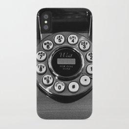 Rotary Phone iPhone Case