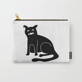 Weird Chonk Cat Black 002 Carry-All Pouch