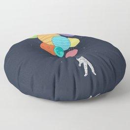 Planet Balloons Floor Pillow