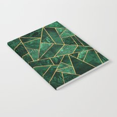 Deep Emerald Notebook