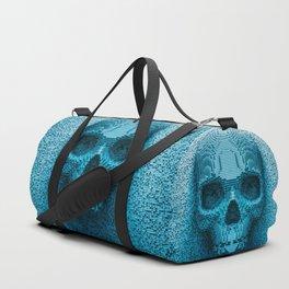 Pixel skull Duffle Bag