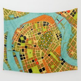 cypher number 19 - koblenz (ORIGINAL SOLD). Wall Tapestry