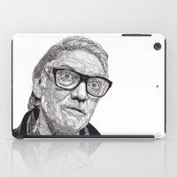 snatch iPad Cases featuring Alan by Rik Reimert