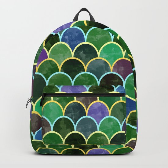 Watercolor Lovely Pattern VVII Backpack