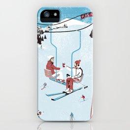 Ski Lift iPhone Case