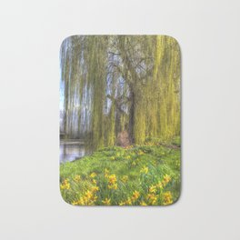 Daffodils and Willow Tree Bath Mat