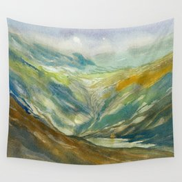 Misty Mountain Wall Tapestry