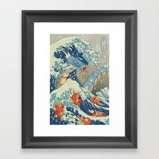 The Great Wave Framed Art Print