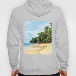 Tropical Beach - Landscape Nature Photography Hoody