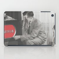 netflix iPad Cases featuring 10 Minutes into Netflix n Chill by Calepotts