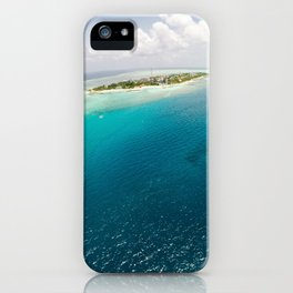Dreams of small islets iPhone Case