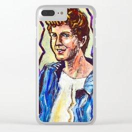Daniel, A Portrait Clear iPhone Case
