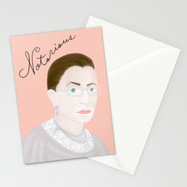 Notorious RBG RuthBaderGinsburg Stationery Cards