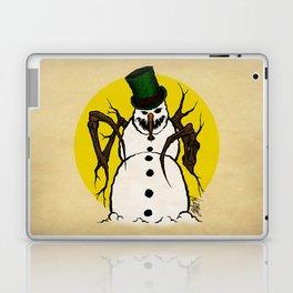 Sinister Snowman Laptop & iPad Skin
