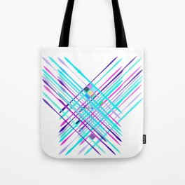 Improvised Geometry Nr. 2, Abstract Tote Bag