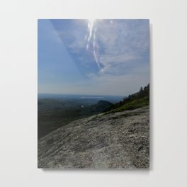 Scenic Views From Chick Hill Metal Print