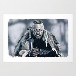 King Ragnar Art Print