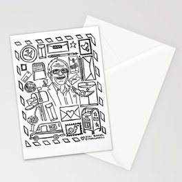 Bernie Sanders & Birdie Stationery Cards