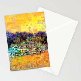Spirit of Peoria cruising the river Stationery Cards