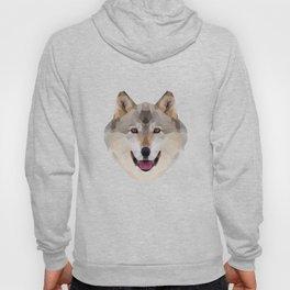 Geometrical Wolf Hoody