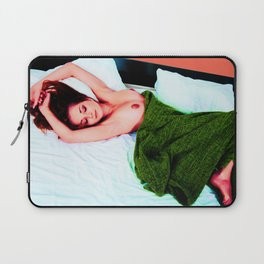 Get Back to Bed. Nude Sexy Naked Beautiful Laptop Sleeve