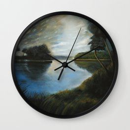 River Muse Wall Clock