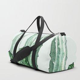 Drawing Green Cactus Duffle Bag