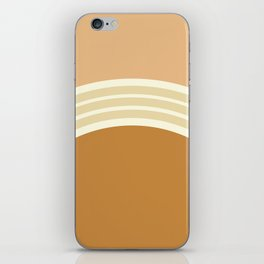 one day –earthen clay layers 2 iPhone Skin
