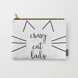 Crazy Cat Lady Carry-All Pouch