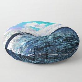 Autumn Sailing Floor Pillow
