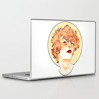 enjolras Laptop & iPad Skins featuring Enjolras by chazstity