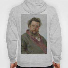 Modest Petrovich Mussorgsky (1839 – 1881) by Ilya Repin in 1881 Hoody