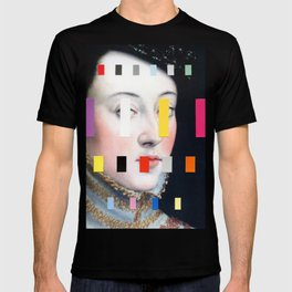 Portrait With A Spectrum 4 T-shirt
