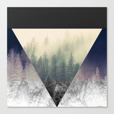Inverted Forest Canvas Print