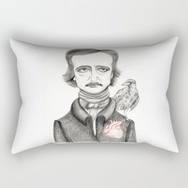 Allan Poe Rectangular Pillow