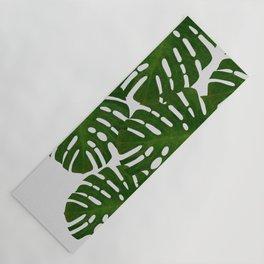 Monstera Leaf I Yoga Mat