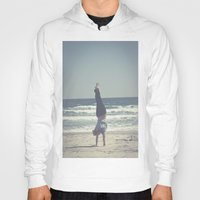 yoga Hoodies featuring Yoga  by L_Q.