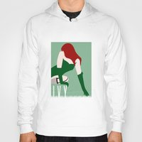 poison ivy Hoodies featuring Poison Ivy by Rizwanb