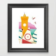 Illustre Conero - Porto Recanati Framed Art Print