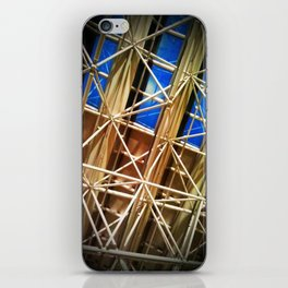 Glass and Steel iPhone Skin