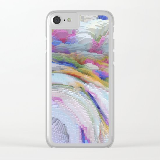 Abstract 223 Clear iPhone Case