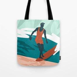 Solo Surf Tote Bag