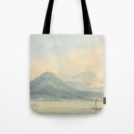 "J.M.W. Turner ""From the Isola Borromena, Lago Maggiore"" Tote Bag"
