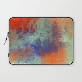 Abstract in Cools and Warms Laptop Sleeve