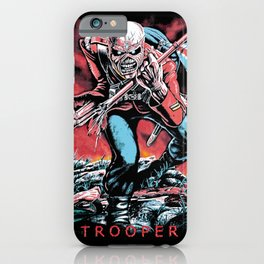 Iron Maiden - Trooper iPhone Case