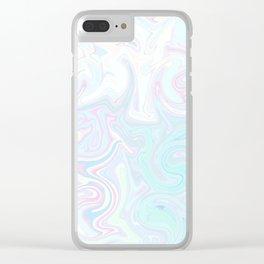 Pale Milkshake Clear iPhone Case
