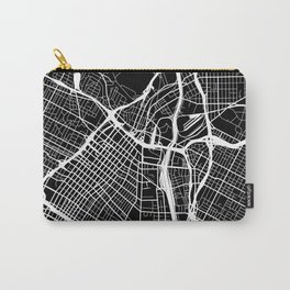 Street MAP Los Angeles // Black&White Carry-All Pouch